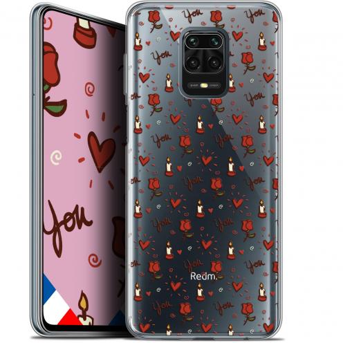 "Coque Gel Xiaomi Redmi Note 9 PRO (6.67"") Extra Fine Love - Bougies et Roses"