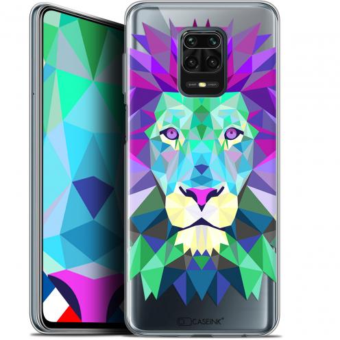 "Coque Gel Xiaomi Redmi Note 9 PRO (6.67"") Extra Fine Polygon Animals - Lion"