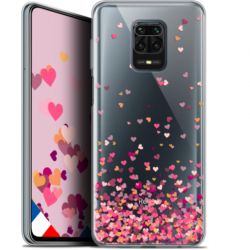 "Coque Gel Xiaomi Redmi Note 9 PRO (6.67"") Extra Fine Sweetie - Heart Flakes"