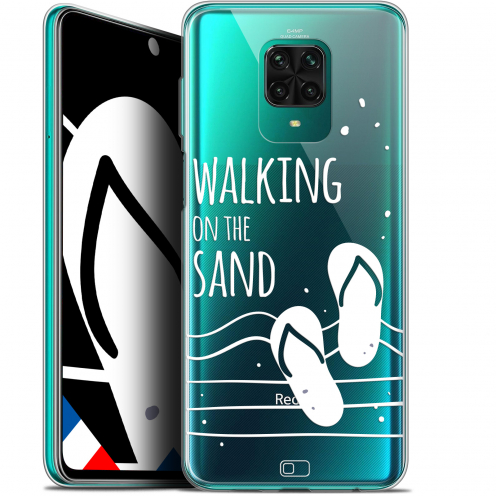 "Coque Gel Xiaomi Redmi Note 9 PRO (6.67"") Extra Fine Summer - Walking on the Sand"