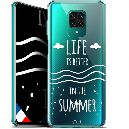 "Coque Gel Xiaomi Redmi Note 9 PRO (6.67"") Extra Fine Summer - Life's Better"