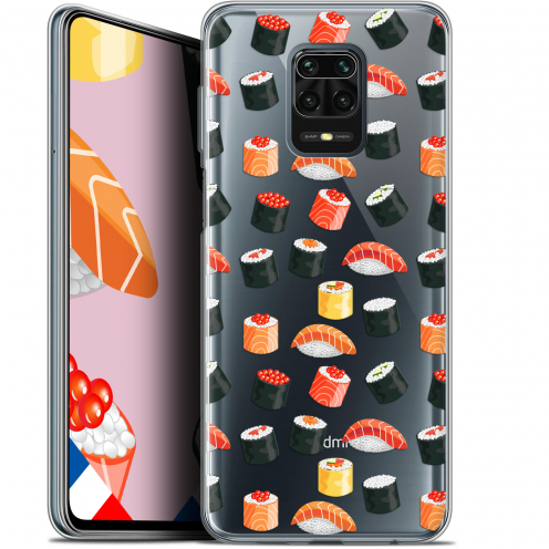 "Coque Gel Xiaomi Redmi Note 9 PRO (6.67"") Extra Fine Foodie - Sushi"