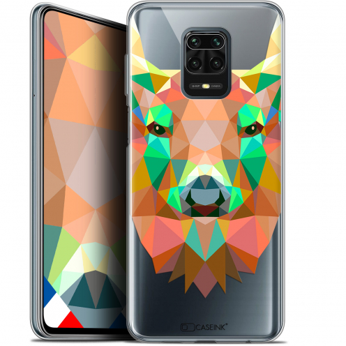 "Coque Gel Xiaomi Redmi Note 9 PRO (6.67"") Extra Fine Polygon Animals - Cerf"