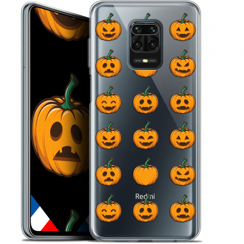 "Coque Gel Xiaomi Redmi Note 9 PRO (6.67"") Extra Fine Halloween - Smiley Citrouille"