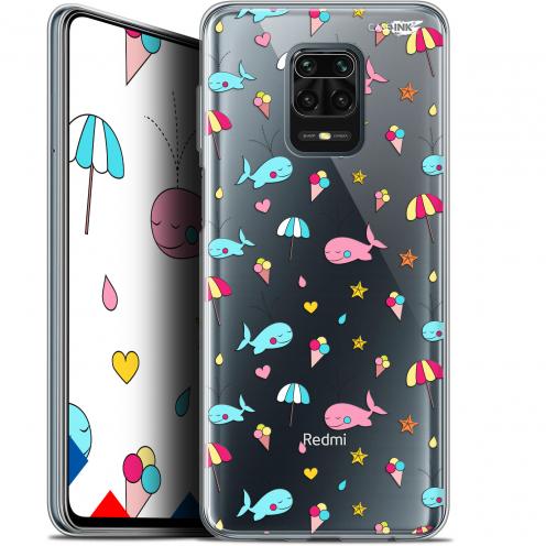 """Coque Gel Xiaomi Redmi Note 9 PRO (6.67"""") Extra Fine Motif - Baleine à la Plage"""