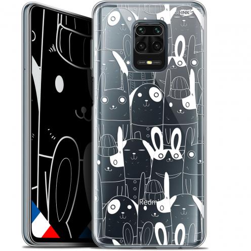 "Coque Gel Xiaomi Redmi Note 9 PRO (6.67"") Extra Fine Motif - Lapin Blanc"