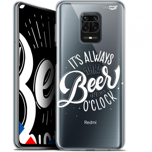 "Coque Gel Xiaomi Redmi Note 9 PRO (6.67"") Extra Fine Motif - Its Beer O'Clock"