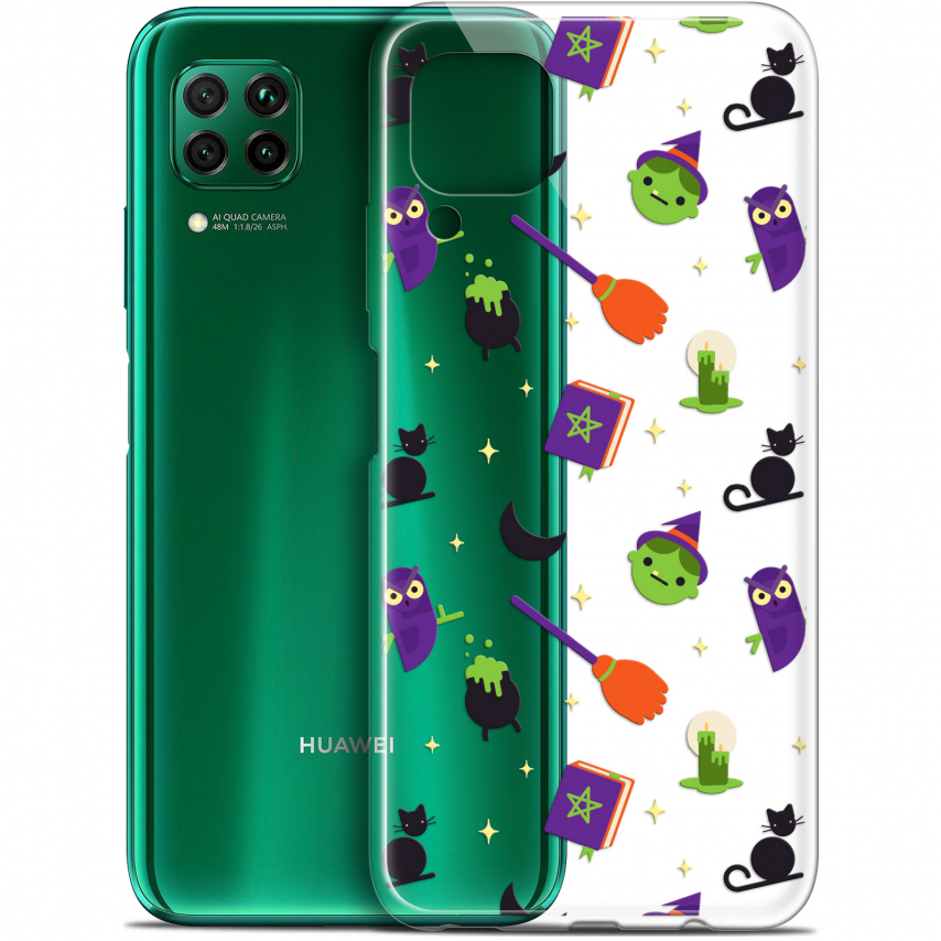 """Coque Gel Huawei P40 Lite (6.4"""") Extra Fine Halloween - Witch Potter"""