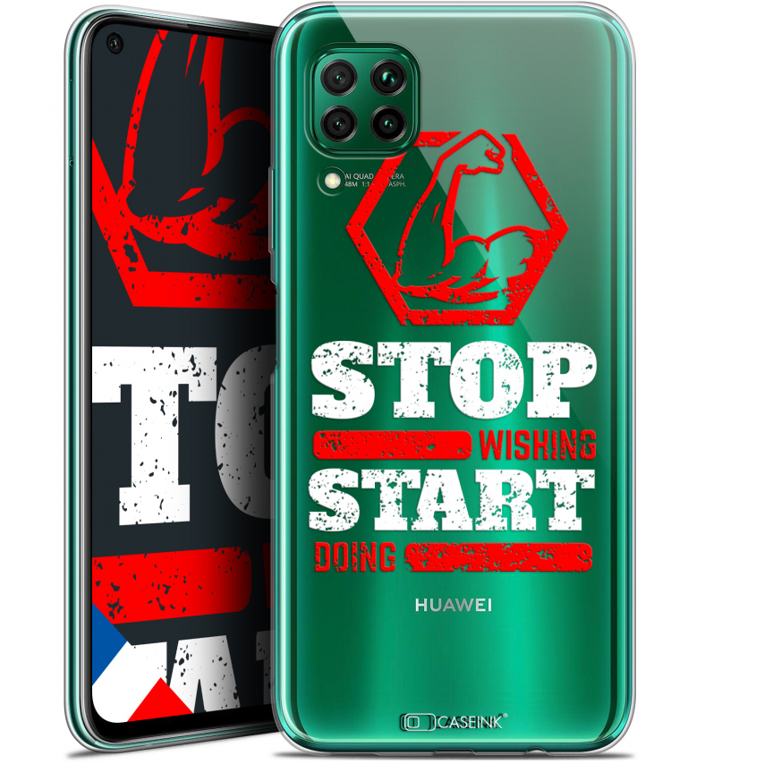 """Coque Gel Huawei P40 Lite (6.4"""") Extra Fine Quote - Start Doing"""