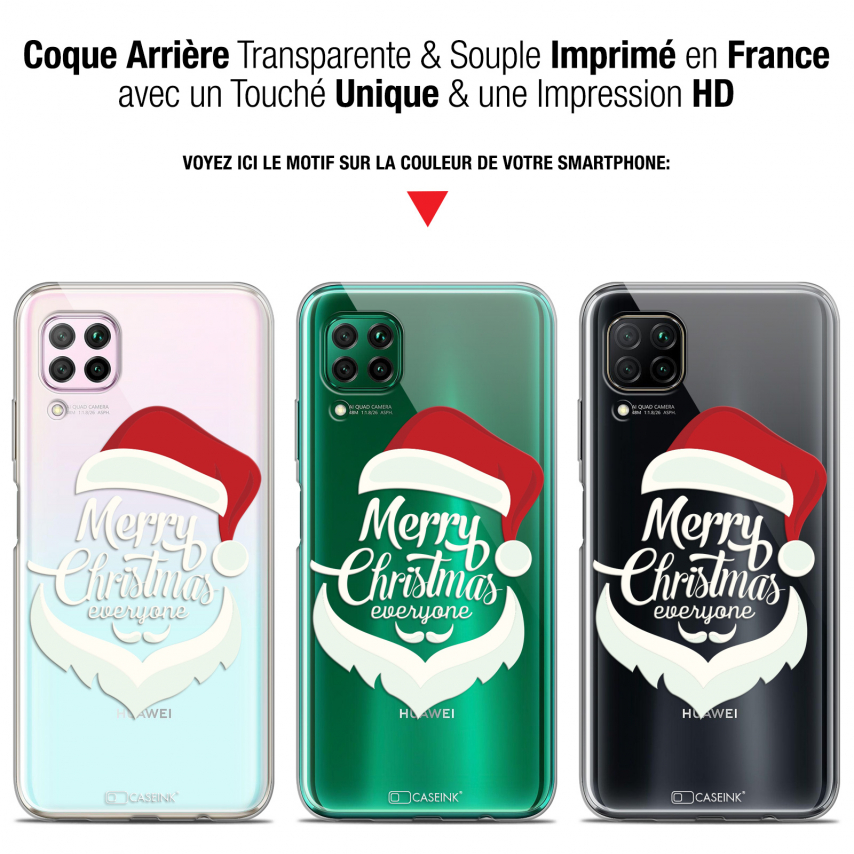 "Coque Gel Huawei P40 Lite (6.4"") Extra Fine Noël - Merry Everyone"