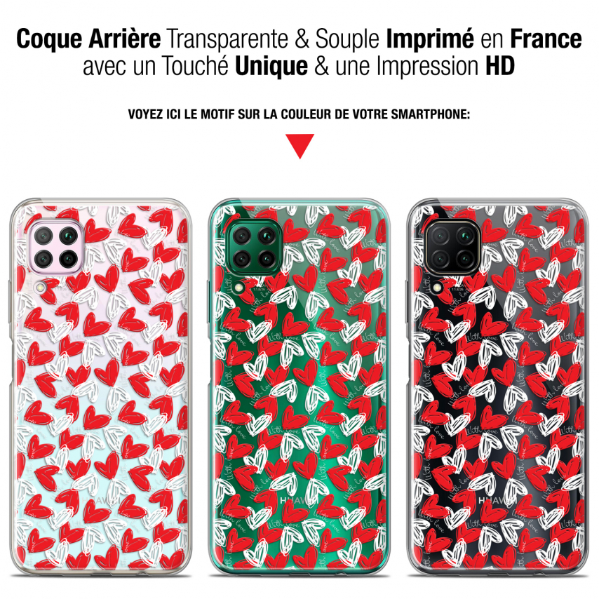 "Coque Gel Huawei P40 Lite (6.4"") Extra Fine Love - With Love"