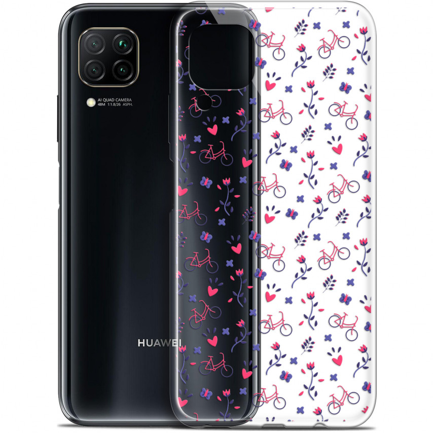"""Coque Gel Huawei P40 Lite (6.4"""") Extra Fine Love - Bicycle"""