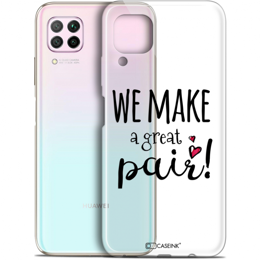 "Coque Gel Huawei P40 Lite (6.4"") Extra Fine Love - We Make Great Pair"