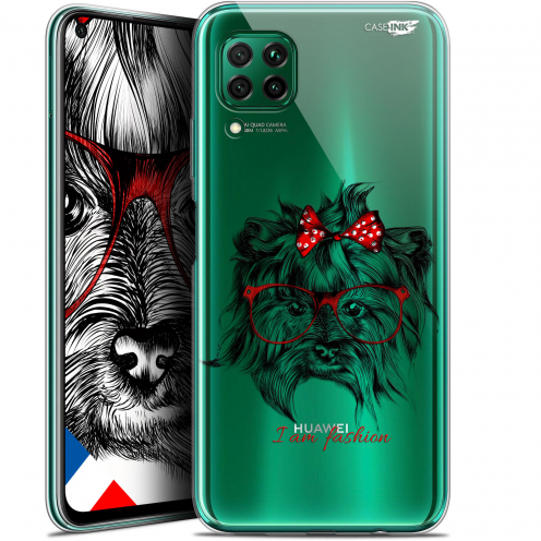 "Coque Gel Huawei P40 Lite (6.4"") Extra Fine Motif - Fashion Dog"