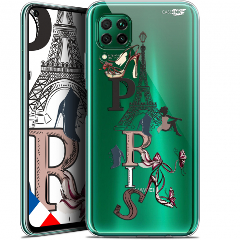 "Coque Gel Huawei P40 Lite (6.4"") Extra Fine Motif - Stylish Paris"