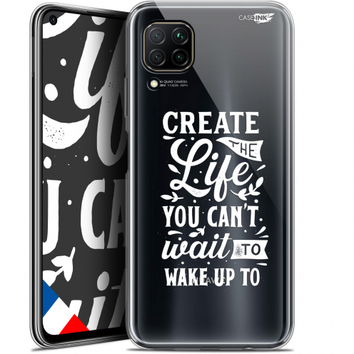 "Coque Gel Huawei P40 Lite (6.4"") Extra Fine Motif - Wake Up Your Life"