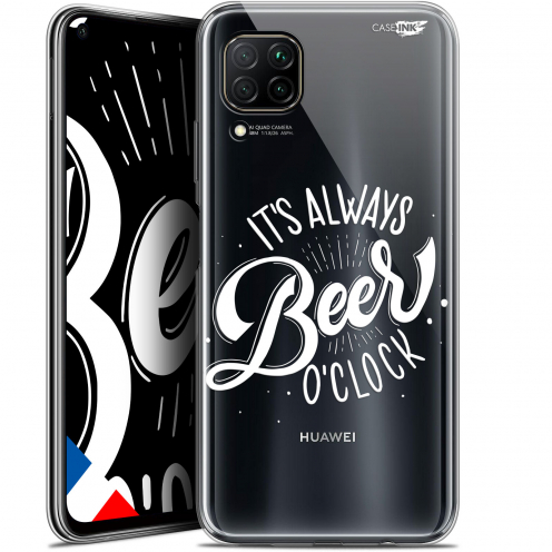 "Coque Gel Huawei P40 Lite (6.4"") Extra Fine Motif - Its Beer O'Clock"
