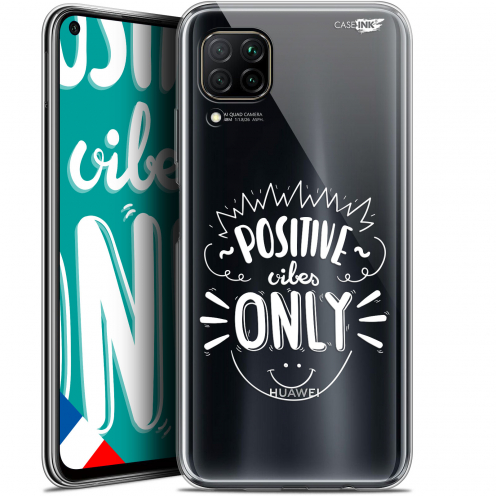 "Coque Gel Huawei P40 Lite (6.4"") Extra Fine Motif - Positive Vibes Only"