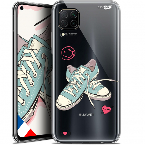 "Coque Gel Huawei P40 Lite (6.4"") Extra Fine Motif - Mes Sneakers d'Amour"