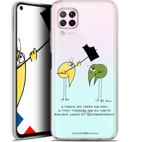 """Coque Gel Huawei P40 Lite (6.4"""") Extra Fine Les Shadoks® - A Force"""