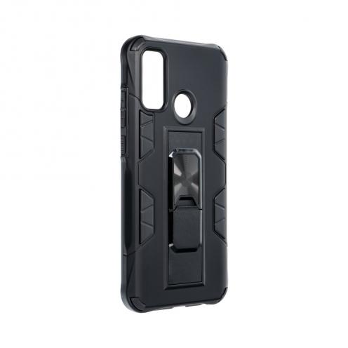 Coque Antichoc DEFENDER Magnet Stand pour Huawei P Smart 2020 Noir