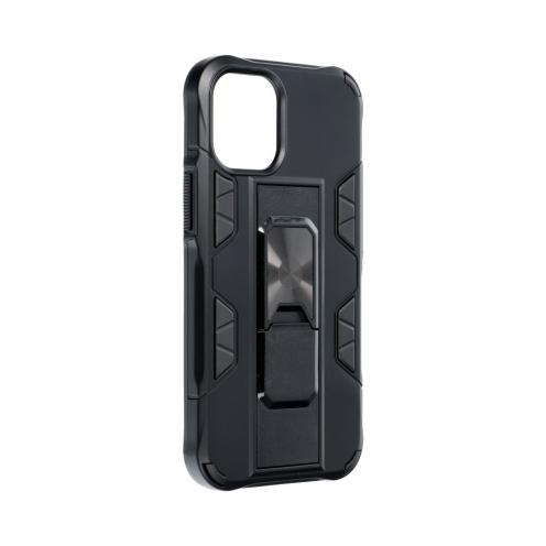 Coque Antichoc DEFENDER Magnet Stand pour iPhone 12 MINI Noir