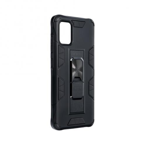 Coque Antichoc DEFENDER Magnet Stand pour Samsung A51 Noir
