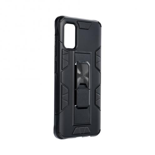 Coque Antichoc DEFENDER Magnet Stand pour Samsung A41 Noir
