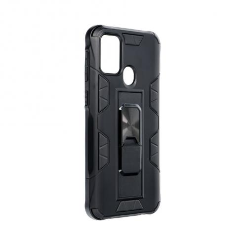 Coque Antichoc DEFENDER Magnet Stand pour Samsung M31 Noir