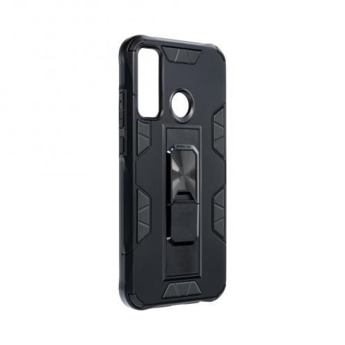 Coque Antichoc DEFENDER Magnet Stand pour Huawei P40 Lite E Noir