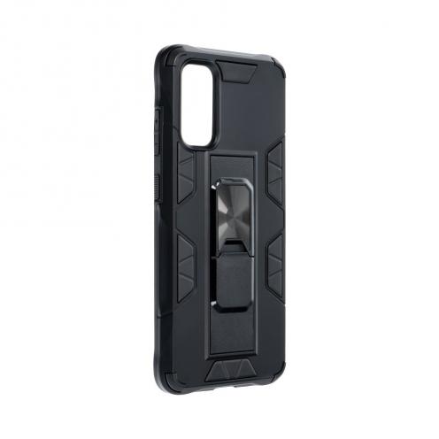 Coque Antichoc DEFENDER Magnet Stand pour Samsung S20 Noir