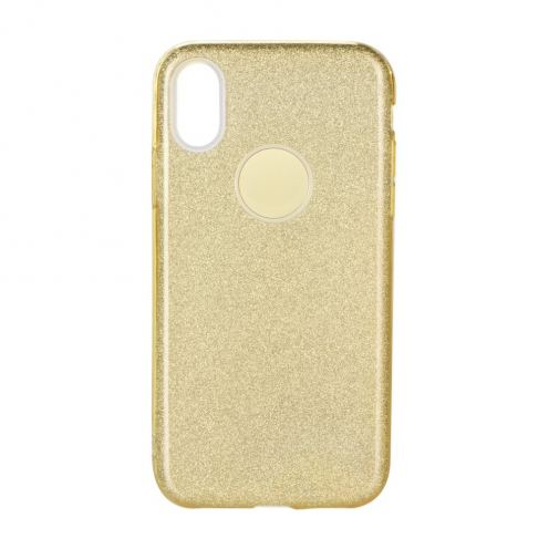 Coque Antichoc Shining Glitter pour Samsung Galaxy A41 Or