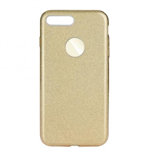 Coque Antichoc Shining Glitter pour iPhone 7 Plus / 8 Plus Or