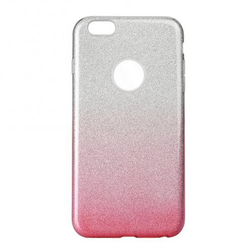 Coque Antichoc Shining Glitter pour iPhone 6/6S transparent/rose