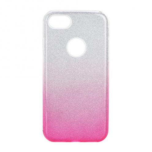 Coque Antichoc Shining Glitter pour iPhone 7 / 8 / SE 2020 transparent/rose