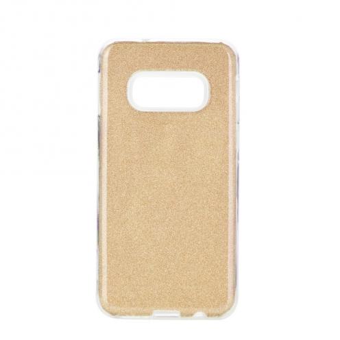 Coque Antichoc Shining Glitter pour Samsung Galaxy S10e Or