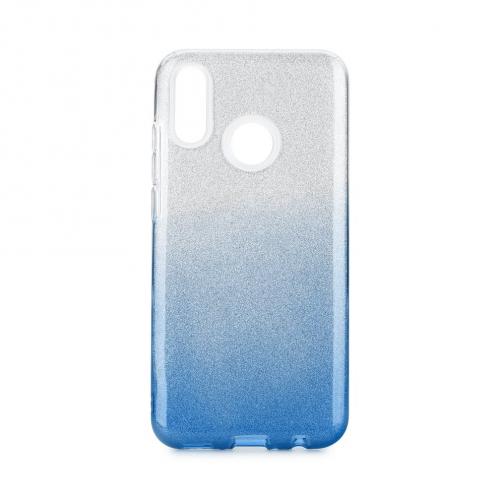 Coque Antichoc Shining Glitter pour Huawei P Smart 2019 transparent/bleu