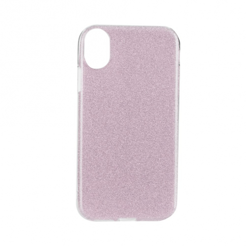 "Coque Antichoc Shining Glitter pour iPhone XR ( 6,1"" ) Rose"