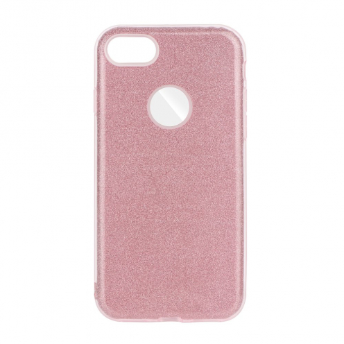 Coque Antichoc Shining Glitter pour iPhone 7 / 8 / SE 2020 Rose