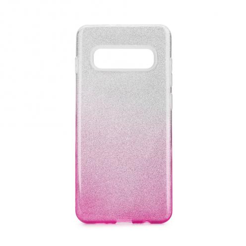 Coque Antichoc Shining Glitter pour Samsung Galaxy S20 Ultra / S11 Plus transparent/rose