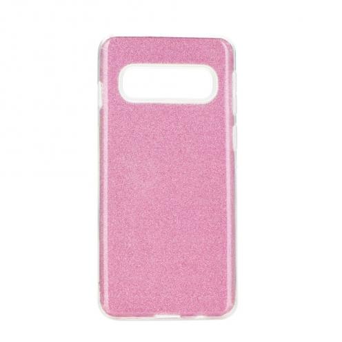 Coque Antichoc Shining Glitter pour Samsung Galaxy S20 Plus / S11 Rose