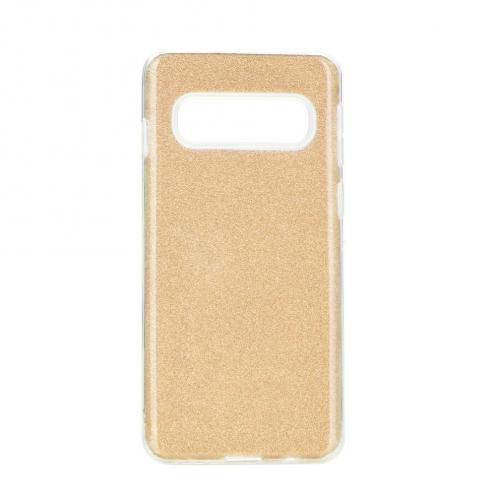 Coque Antichoc Shining Glitter pour Samsung Galaxy S20 Plus / S11 Or