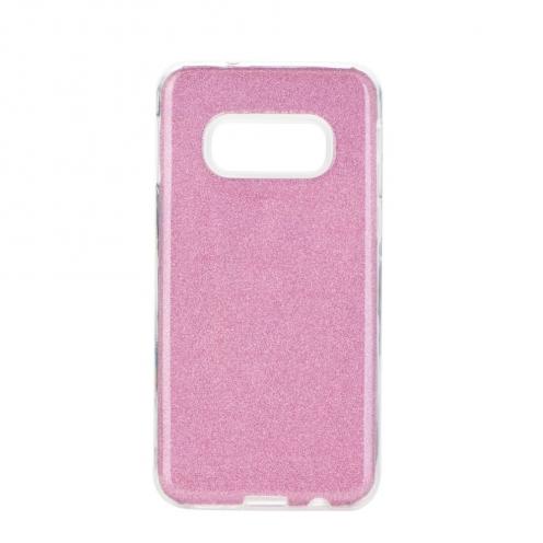 Coque Antichoc Shining Glitter pour Samsung Galaxy S20 / S11e Rose