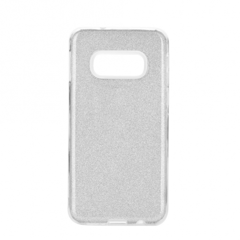 Coque Antichoc Shining Glitter pour Samsung Galaxy S20 / S11e Argent