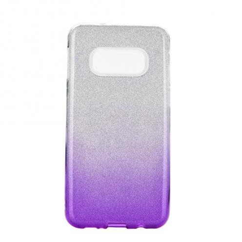 Coque Antichoc Shining Glitter pour Samsung Galaxy S20 / S11e transparent/violet