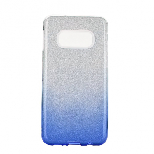 Coque Antichoc Shining Glitter pour Samsung Galaxy S20 / S11e transparent/bleu