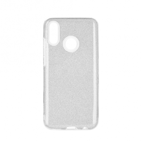 Coque Antichoc Shining Glitter pour Huawei P Smart Z Argent