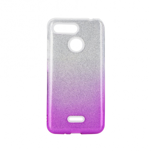 Coque Antichoc Shining Glitter pour Xiaomi Redmi 7A transparent/rose