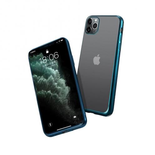Coque NEW ELECTRO MATT pour iPhone 12 PRO MAX Vert