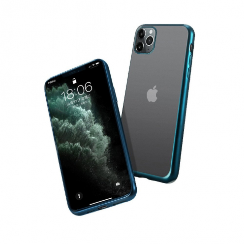 Coque NEW ELECTRO MATT pour iPhone 12 MINI Vert